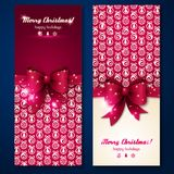 Christmas greeting cards. Royalty Free Stock Image