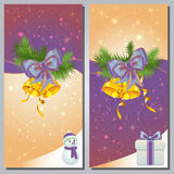 Christmas Greeting Cards Royalty Free Stock Photo