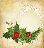 Christmas greeting Royalty Free Stock Image