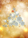 Christmas greeting illustration. EPS 10 Royalty Free Stock Photos