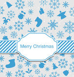 Christmas Greeting Invitation Royalty Free Stock Photos