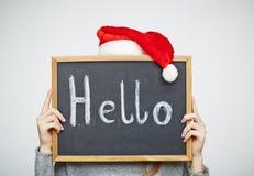 Christmas greeting Royalty Free Stock Image