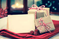 Christmas greeting stock images