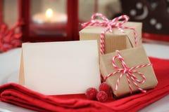 Christmas greeting Royalty Free Stock Photos
