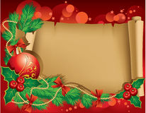 Christmas greetings Stock Image