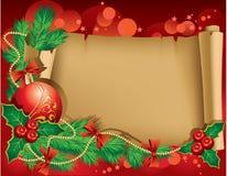Christmas greetings Stock Image