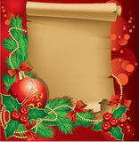 Christmas greetings Royalty Free Stock Image