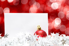 Christmas greetings Stock Photography
