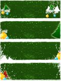 Christmas greetings. Illustration for christmas greetings with snow decoration Royalty Free Stock Image