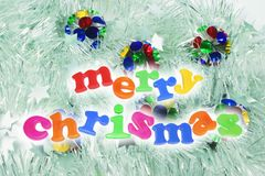 Christmas Greetings Royalty Free Stock Photo