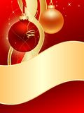 Christmas_greetings Photos libres de droits