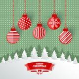 Christmas greetings Stock Photography