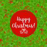 Christmas greetings background Stock Photography