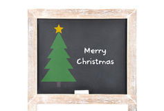 Christmas greetings on board Royalty Free Stock Photos