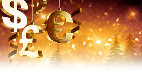Christmas greetings for business Stock Images