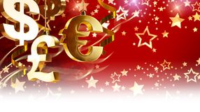 Christmas greetings for business Royalty Free Stock Photo