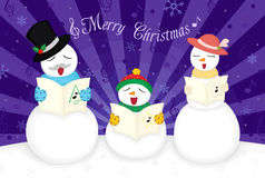 Christmas greetings card Royalty Free Stock Photos