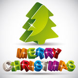 Christmas greetings card. Royalty Free Stock Photography