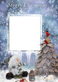 Christmas greetings card Royalty Free Stock Images