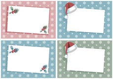 Christmas greetings cards Stock Photo