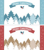 Christmas greetings cards Royalty Free Stock Photography