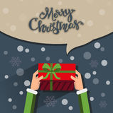 Christmas greetings Stock Photos