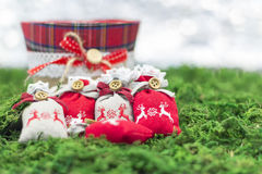 Christmas greetings. Decoration and symbol xmas Stock Images