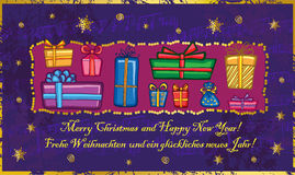 Christmas greetings Stock Photo