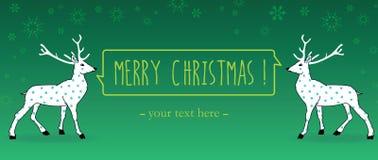 Christmas greetings postcard Royalty Free Stock Photography