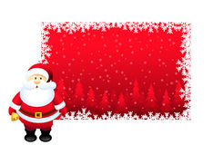 Christmas Greetings & Santa Clause - Vector Stock Photography