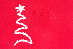 Christmas greetings, spray painted Stock Images