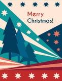 Christmas greetings vintage Royalty Free Stock Photos