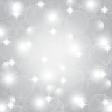 Christmas grey abstract background Stock Images