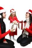 Christmas group Royalty Free Stock Photography