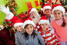 Christmas group Royalty Free Stock Image