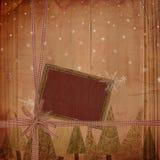 Christmas grunge background. Christmas / Winter theme - grunge background Royalty Free Stock Photo