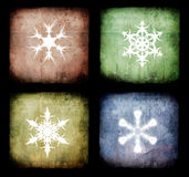 Christmas grunge background Stock Image