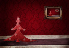 Christmas grunge background Stock Photo