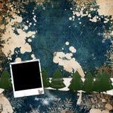 Christmas grunge background. Christmas / Winter theme - grunge background Stock Images