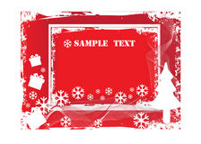Christmas grunge background. An illustration of highly detailed abstract grunge christmas vector background Royalty Free Stock Photography