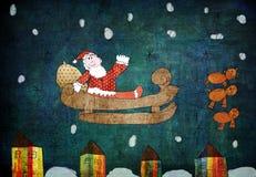 Christmas grunge background Royalty Free Stock Image