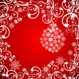 Christmas grunge background. Vector illustration Stock Images