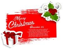 Christmas grunge background Royalty Free Stock Photo