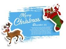 Christmas grunge background Royalty Free Stock Images