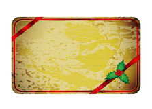 Christmas grunge banner Stock Photo
