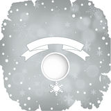 Christmas grunge banner, winter background Royalty Free Stock Photos