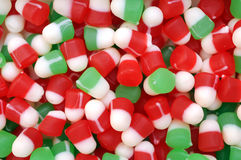 Christmas gummy candies Stock Image