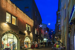 Christmas in Hall in Tirol, Austria Royalty Free Stock Photo