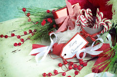Christmas hamper Royalty Free Stock Photography
