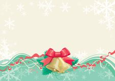Christmas hand bells Royalty Free Stock Photography